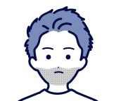 ヒゲが濃い人の脱毛目安 1~3回 ヒゲ剃りの感覚が変化